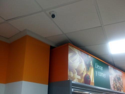 Cámara de videovigilancia